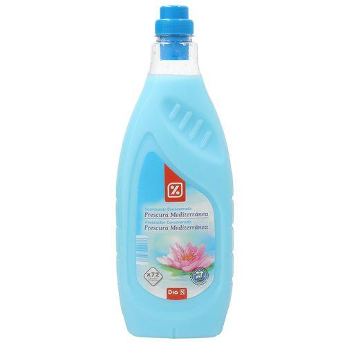 DIA suavizante concentrado frescura mediterránea botella 72 lv