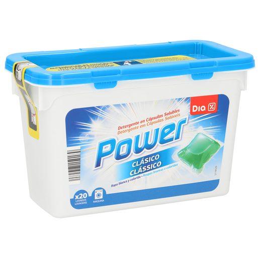DIA detergente máquina en cápsulas 20 uds