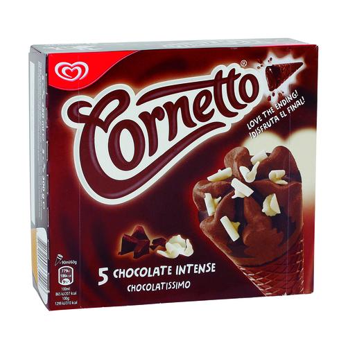 FRIGO helado cornetto chocolatissimo caja 5 uds 376 gr