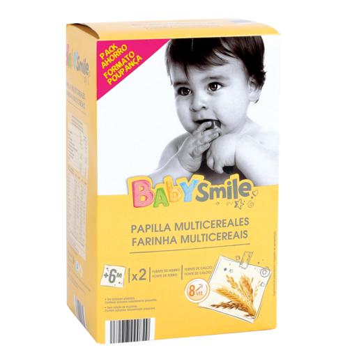BABYSMILE papilla multicereal caja 1200 gr