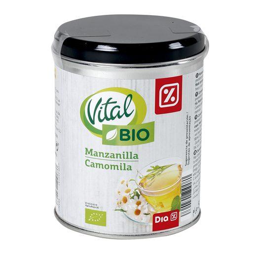 DIA VITAL manzanilla ecológica lata 100 gr