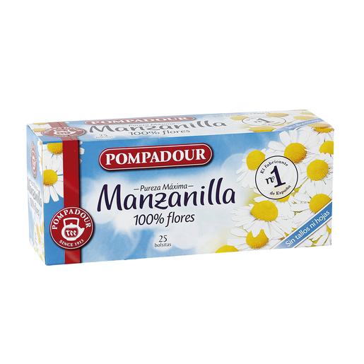 POMPADOUR infusión manzanilla estuche 25 bolsitas