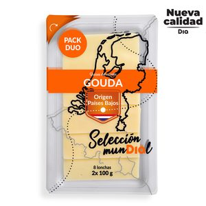 DIA SELECCIÓN MUNDIAL queso gouda holandés en lonchas sobre 2 x 100 gr