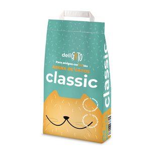DIA  DELIGATO arena para gatos absorbente bolsa 5 Kg