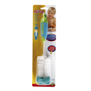 NUBY cepillo para biberones y tetinas 1 ud (diferentes colores)