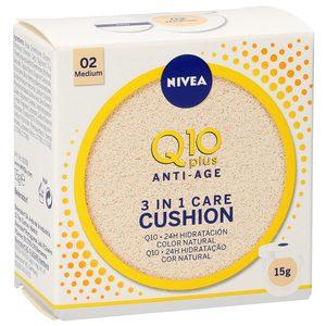 NIVEA Q10 plus anti-age crema con color 3 en 1 tono medio 15 gr