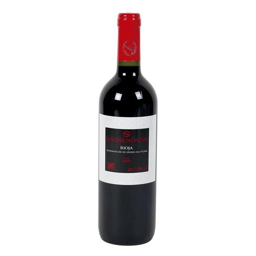 SEÑORIO DE ONDAS vino tinto  DO Rioja botella 75 cl