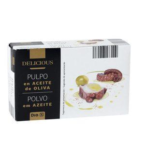 DIA DELICIOUS pulpo en aceite de oliva lata 65 gr