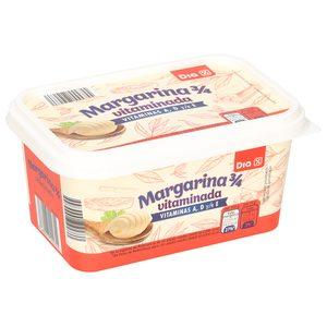 DIA margarina vitaminada barqueta 500 g