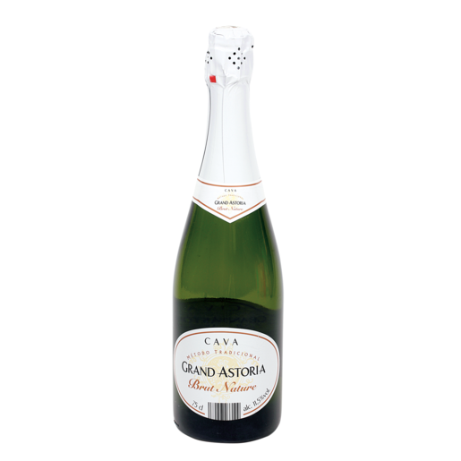 GRAND ASTORIA cava brut nature botella 75 cl