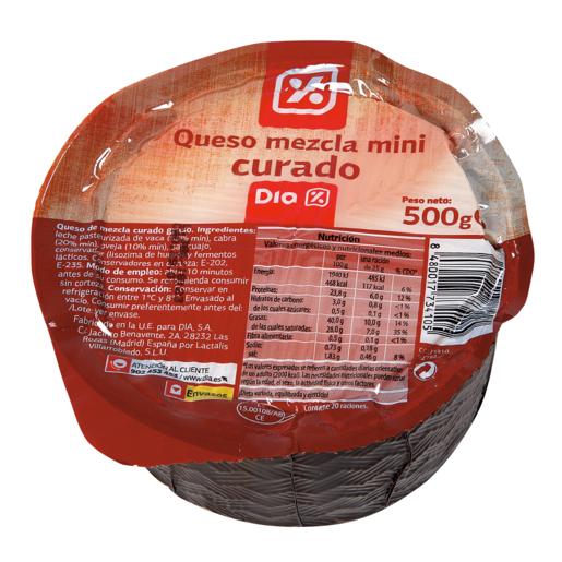 DIA queso curado mini pieza 500 g