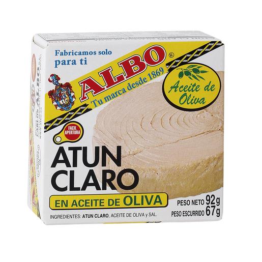 ALBO atún claro en aceite de oliva lata 67 gr