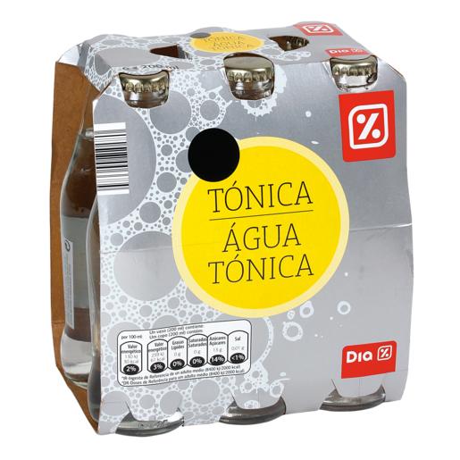 DIA tónica pack 6 botellas 20 cl