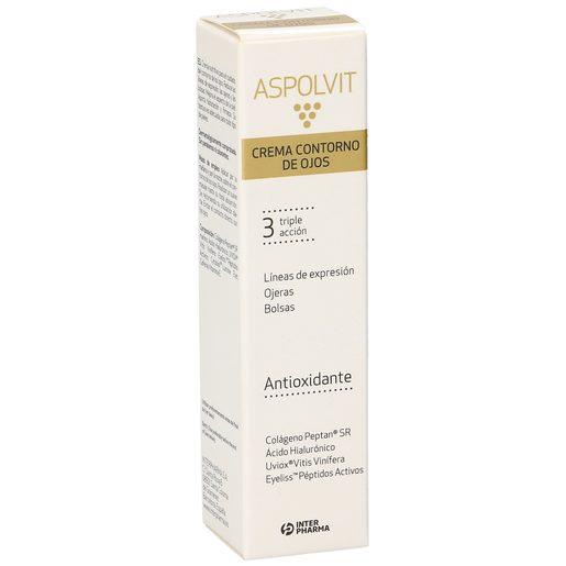 ASPOLVIT crema contorno de ojos triple acción bote 15 ml