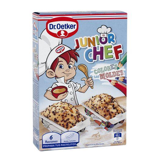 DR. OETKER Junior chef preparado en polvo para hacer bizcochitos caja 245 gr