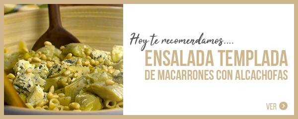 Receta ensalada alcachofa