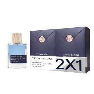 TITTO BLUNI colonia acqua blu spray 2 x 75 ml