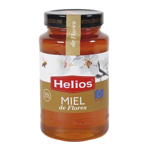 HELIOS miel pura de flores frasco 750 gr