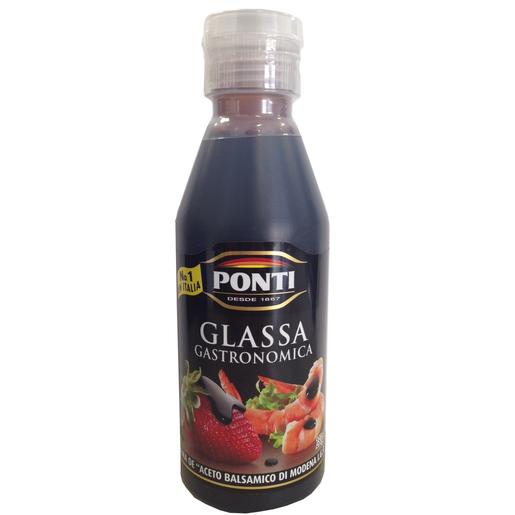 PONTI Glassa acetato balsámico di modena botella 250 ml