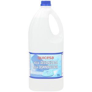 QUICESA agua destilada botella 2 lt