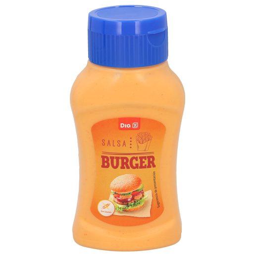 DIA salsa para hamburguesas bote 320 gr