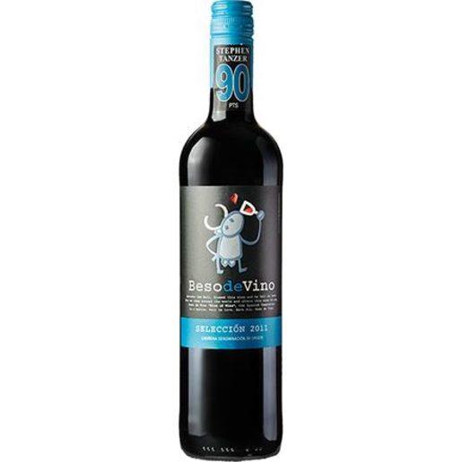 BESO DE VINO vino tinto DO Cariñena botella 75 cl