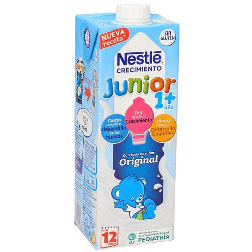NESTLE Junior leche crecimiento original +12 meses envase 1 lt