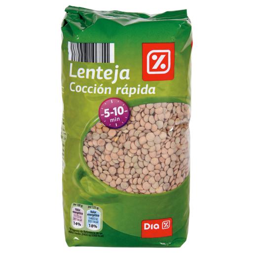 DIA lenteja cocción rápida paquete 1 Kg