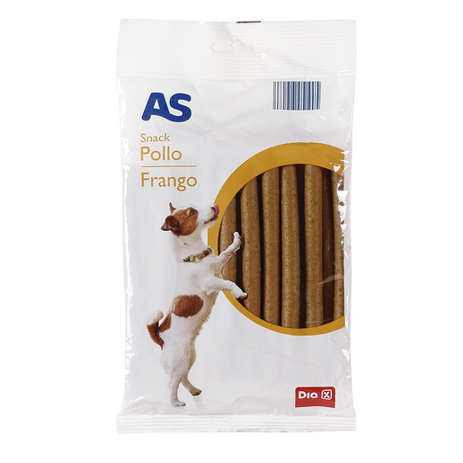 AS snack para perros de pollo bolsa 200 gr