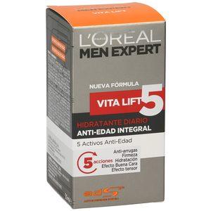 L'OREAL MEN EXPERT crema facial vital-5 tarro 50 ml