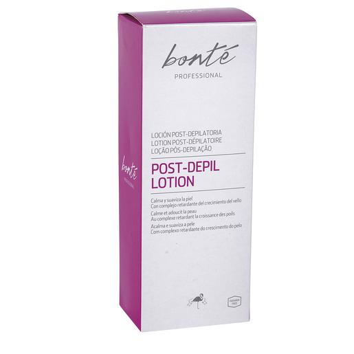 BONTE loción post-depilatoria calma y suaviza la piel tubo 200 ml