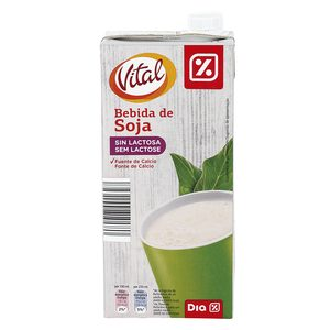 DIA VITAL bebida de soja envase 1 lt