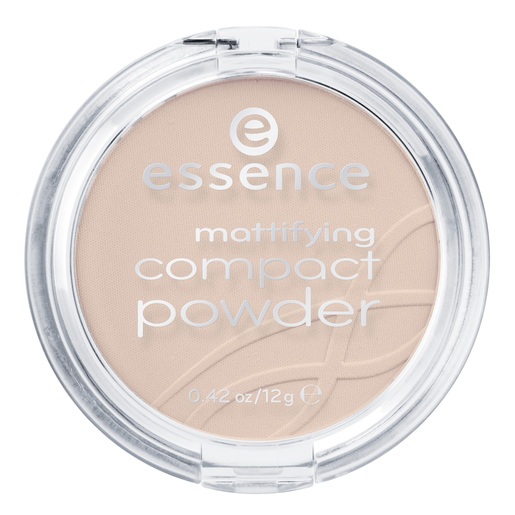ESSENCE Mattifiying compact powder polvos matificantes  02 Soft Beige
