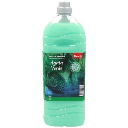DIA suavizante concentrado con microcápsulas ágata verde botella 80 lv