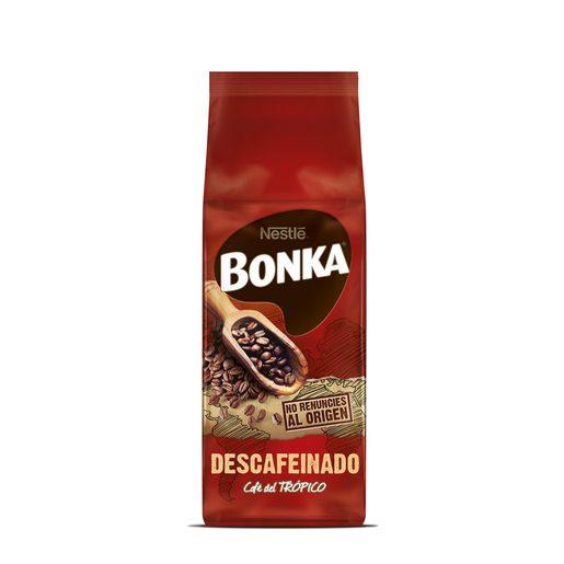 BONKA café descafeinado en grano paquete 250 gr