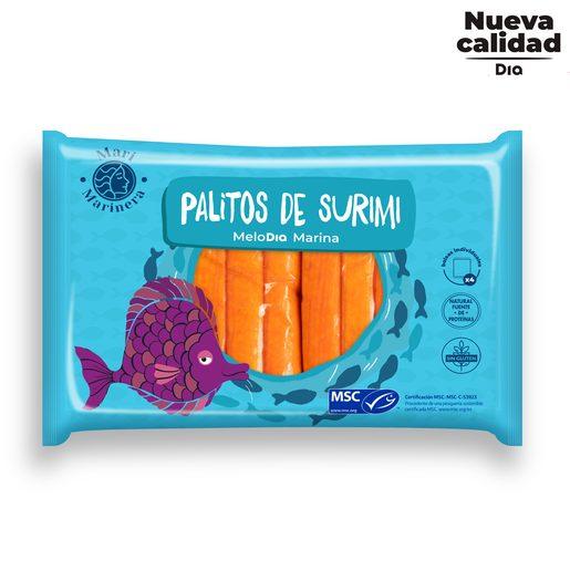 DIA MARI MARINERA palitos de surimi paquete 300 gr