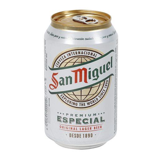 SAN MIGUEL cerveza rubia nacional lata 33 cl
