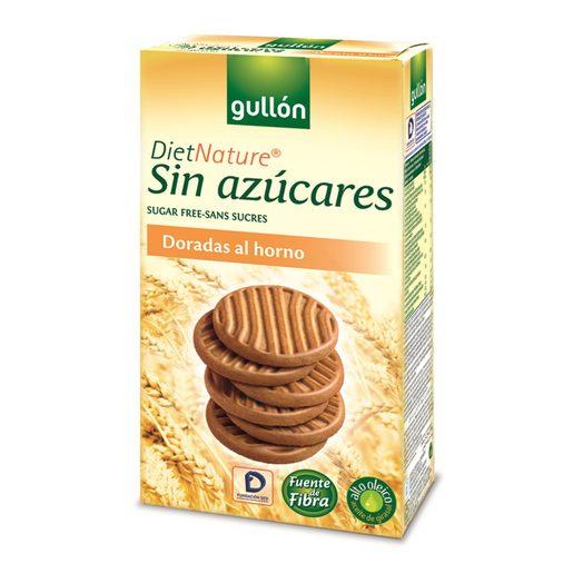 GULLON DIET NATURE doradas al horno sin azúcar caja 330 grs