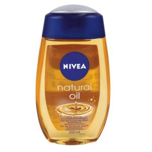 NIVEA gel de ducha natural oil bote 200 ml