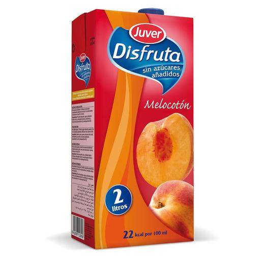 DISFRUTA néctar light melocotón envase 2 lt
