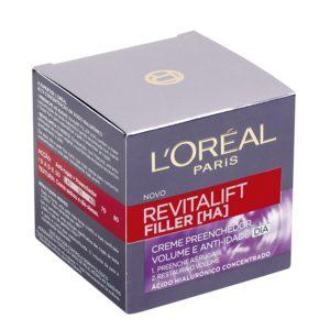 L'OREAL Revitalift filler crema facial antiarrugas tarro 50 ml