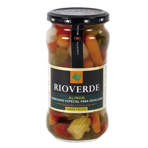RIOVERDE aliño combinado especial para ensaladas frasco 180 gr