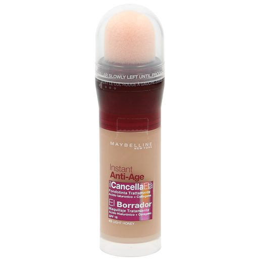 MAYBELLINE El Borrador base de maquillaje 45 Light Honey