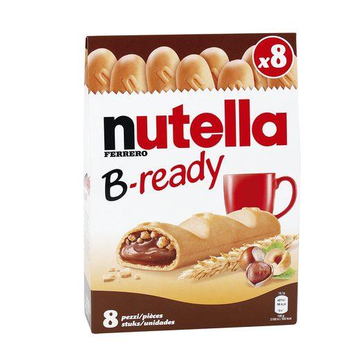 NUTELLA B-Ready deliciosa nutella recubierta de galleta paquete 152 gr