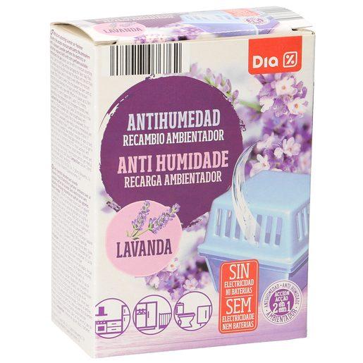 DIA antihumedad aroma lavanda recambio 1 ud