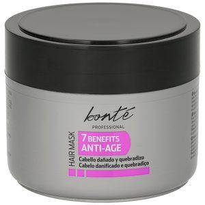BONTE mascarilla capilar antiedad para cabellos dañados y quebradizos frasco 300 ml