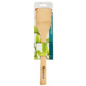 QUTIN pala recta de madera de bambú 30 cm