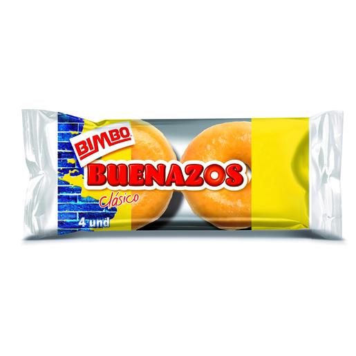 BIMBO buenazos clásicos paquete 4 uds 200 gr
