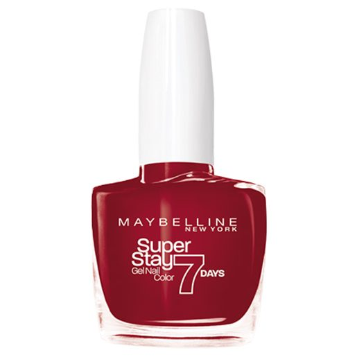 MAYBELLINE SuperStay Gel Nail Color 7Days esmalte de uñas 006 Deep Red