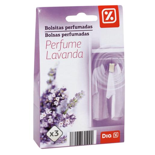 DIA bolsita perfumada aroma lavanda caja 3 uds